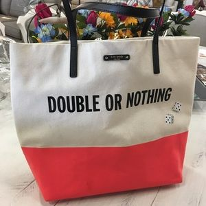 Kate Spade Vegas Dice Double or Nothing Tote